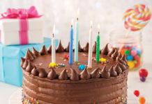 Gâteau au chocolat (parfait pour les fêtes d'enfants)