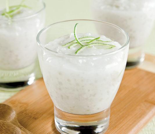 Tapioca au lait de coco