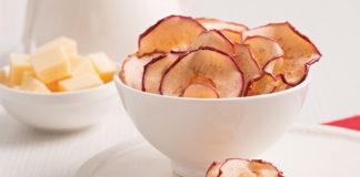 Chips de pommes épicées