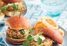 Mini-burgers de crabe